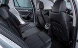 2020 Skoda Octavia official studio - rear seats