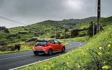 2020 Toyota Yaris prototype drive - on the road rear