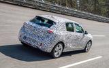 Vauxhall Corsa 2019 prototype drive - highspeed rear