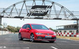 2020 Volkswagen Golf GTI first ride - static front