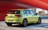 2020 Volkswagen Golf Mk8 official press - static rear