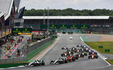 70 years of Formula One - Silverstone first corner