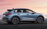 86 Audi Q4 etron 2021 official reveal static rear