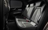 86 Audi Q4 Etron 2021 prototype drive rear seats