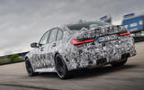 2020 BMW M3 prototype first drive - track rear