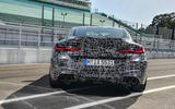 2019 BMW M8 prototype ride - static rear