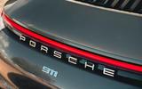 Corvette C8 vs Porsche 911 UK - Porsche rear end