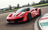 86 fastest cars tested by Autocar Ferrari 488 pista