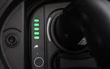 Fiat 500 electric 2020 official press images - battery indicator