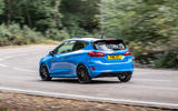 Ford Fiesta ST Edition 2020 official announcement - cornering rear