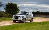 2020 Land Rover Defender prototype ride - driving front