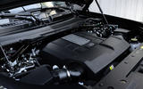 86 Land Rover Defender V8 2021 official images engine
