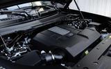 86 Land Rover Defender V8 2021 official images engine