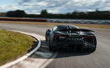86 Lotus Evija 2021 track drive cornering rear