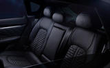 86 Maserati Levante Hybrid 2021 official images rear seats