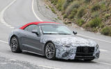 86 Mercedes AMG SL 2022 spies front