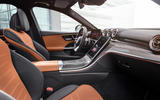 86 Mercedes Benz C Class 2021 official images interior brown