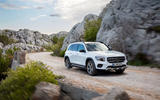 Mercedes-Benz GLB 2019 official reveal - on the road front
