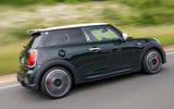 86 Mini JCW anniversary official images on road rear