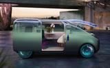 2020 Mini Urbanaut concept - window open side