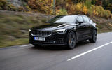 2020 Polestar 2 prototype drive - on the road front