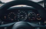 2019 Porsche 911 Carrera S track drive - instrument cluster