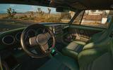Porsche 911 Cyberpunk 2077 tie-in - interior