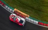 Porsche 911 RSR-19 drive - on track aerial