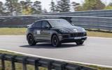 86 Porsche Cayene Turbo Coupe prototype 2022 track