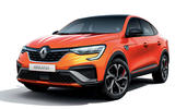 2021 Renault Arkana official European images - static front