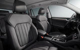 86 Skoda Kodiaq MY2021 facelift official images front seats