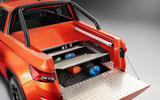 Skoda Mountiaq concept first drive review - tailgate underfloor storage