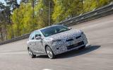 Vauxhall Corsa 2019 prototype drive - highspeed front