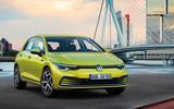 2020 Volkswagen Golf Mk8 official press - static front