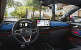 86 VW ID 4 GTX official images dashboard