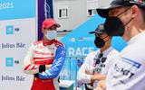 87 Alex Lynn Mahindra Formula E 2021 end