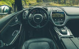 Aston Martin DBX 2020 prototype drive - dashboard
