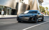 Audi E-tron GT concept 2020 prototype first drive review - on the road front