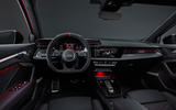 87 Audi RS3 2021 official reveal hatch dashboard