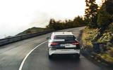 Audi S3 2020 prototype drive - cornering rear