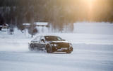 Bentley Flying Spur 2020 development ride - on snow