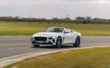 87 Bentley Mulliner Bacalar prototype drive 2021 track front