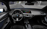 BMW 1 Series 2019 official reveal - dashboard