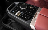 87 BMW iX prototype ride 2021 centre console