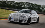 2020 BMW M3 prototype first drive - track