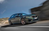 87 BMW M5 CS 2021 official reveal on road front