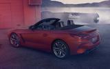 2019 BMW Z4 official reveal Pebble Beach - rear