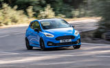 Ford Fiesta ST Edition 2020 official announcement - cornering front