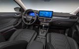 87 Ford Focus 2021 refresh official images active interior
