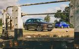 87 Genesis vs Audi twin test 2021 static